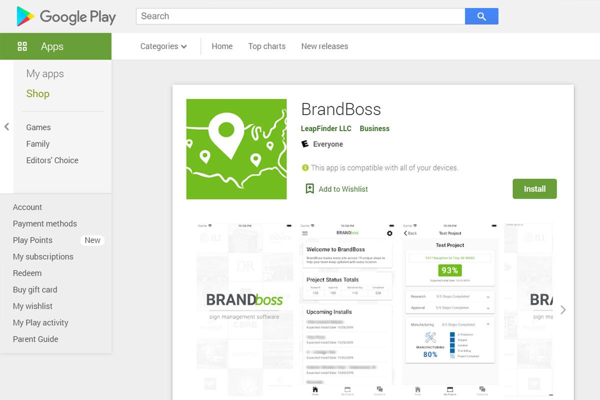 BrandBoss Mockup
