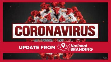 National Branding COVID-19 Coronavirus Update (3/17/20) – We are OPEN!